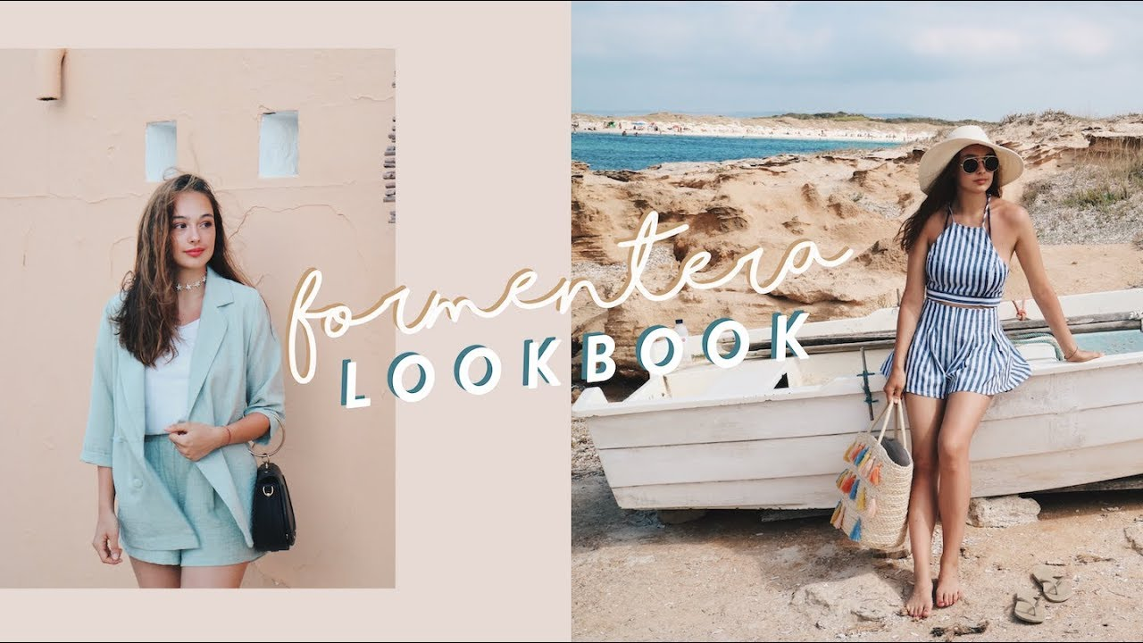 [VIDEO] – FORMENTERA SUMMER LOOKBOOK / Summer Holiday Outfits ☀️
