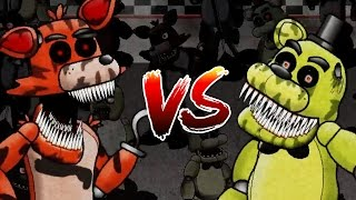 PLAYING AS GOLDEN FREDDY! | Five Fights at Freddys (Five Nights at Freddys)
