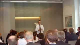 Teddy Talks 1: Lionel Barber - 'What to expect from the world economy'