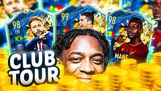 MY FINAL FIFA 20 CLUB TOUR! HOW MANY MILLION COINS IS IT WORTH?! MMT #71