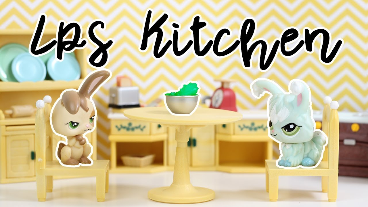 lps skit mollys special soup calico critters kozy kitchen unboxing review - Kozy Kitchen
