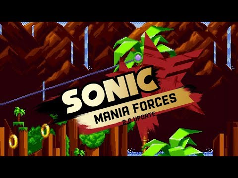 Sonic Mania Forces V2.0 (Updated) Mod Download
