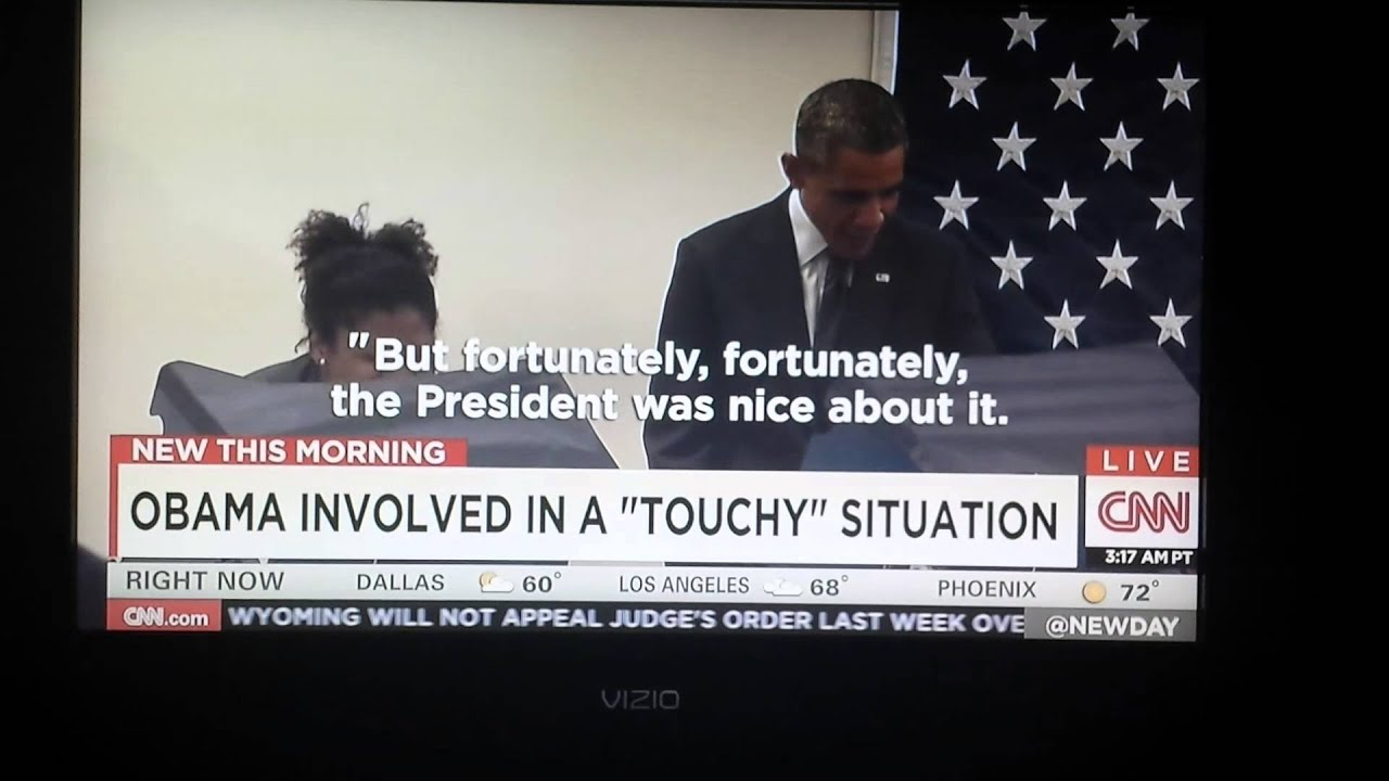 Mr. President Don't Touch My Girlfriend