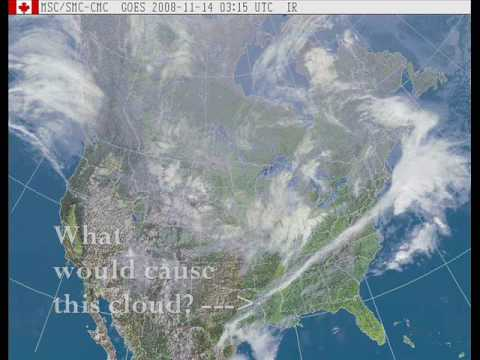 SATELLITE EVIDENCE OF WEATHER MODIFICATION?