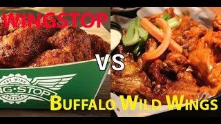 Buffalo Wild Wings vs. Wingstop: The Best Hot Wing Chain in America!