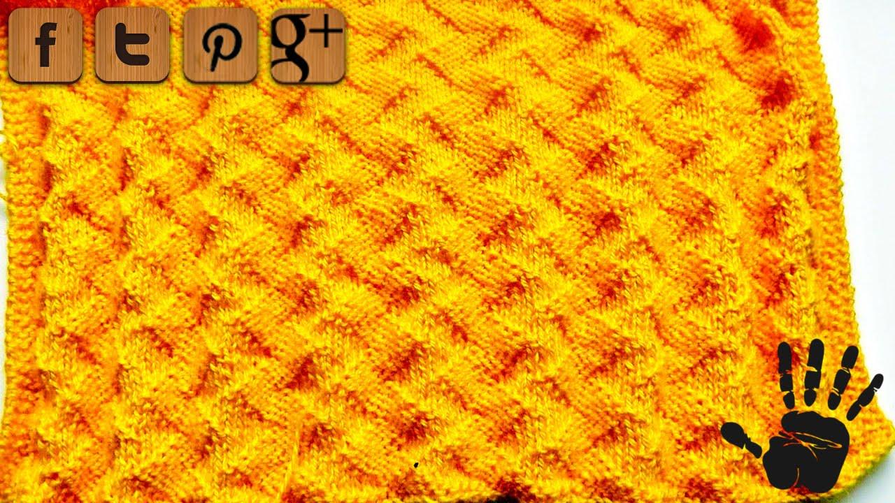 ZigZag knitting pattern - © Woolpedia - YouTube