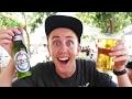 กินเบียร์ครั้งแรกในชีวิต!! แอฟริกา โอนลี่!!