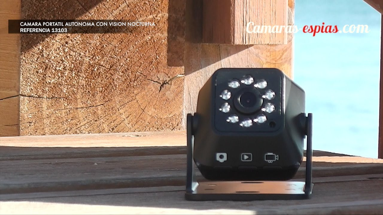 Camara portatil autonoma con vision nocturna for Camara vigilancia autonoma