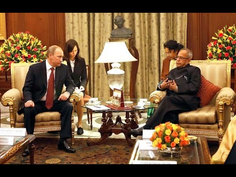 Call On (The President of Russian Federation) at Rashtrapati Bhavan on 11-12-2014