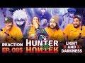 Hunter x Hunter - Episode 85 Light x And x Dark - Group Reaction