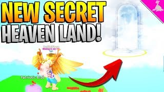SECRET HEAVEN LAND IN ROBLOX MINING SIMULATOR!? *MUST TRY THIS!*