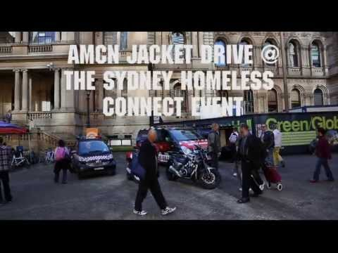 AMCN Jacket Drive at the Sydney Homeless Connect initiative