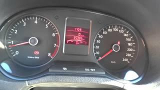 Функции бортового компьютера VW polo sedan