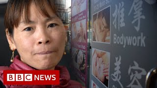 Inside the lives of Asian massage workers: 'How can we not be scared?' - BBC News