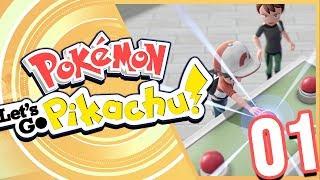 Pokémon Let's Go Pikachu! Episode 1 - Pallet Town