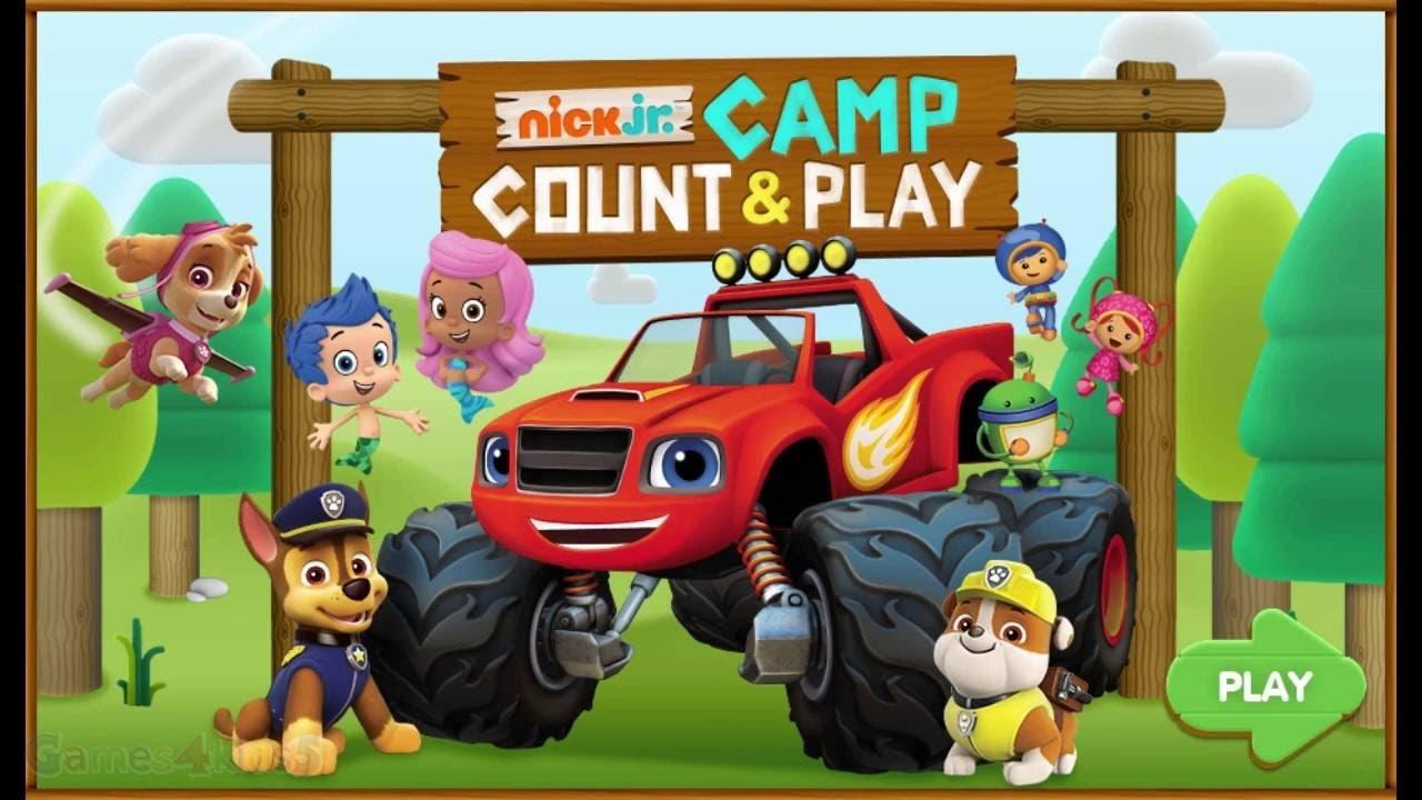 paw patrol full episodes  nick jr camp count