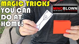 Magic Tricks you can do AT HOME!