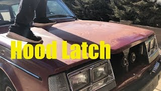 After an Accident: Volvo 240 Hood Latch Adjustment