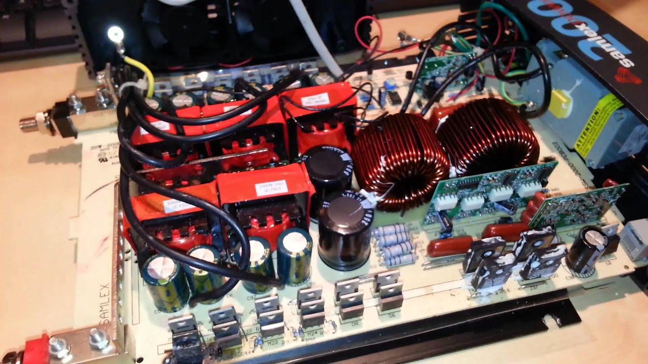 Samlex Ssw 2000 Pure Sine Power Inverter Repair Part 1 Youtube 800w Schematic Diagram Circuit Schema