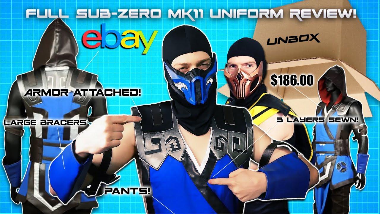 Scorpion And Subzero Unbox Sub Zero S Full Mortal Kombat 11
