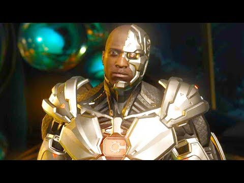 Injustice 2 PC - All Super Moves on Cyborg Nth Metal Costume 4K Ultra HD Gameplay
