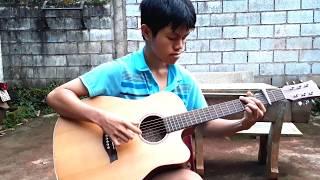 容易受伤的女人- Người tình mùa đông - ルージュ- guitar solo - fingerstyle version Như Quỳnh