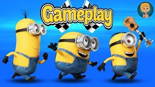 Minions despicable me 3 rush gameplay - minion games for kids