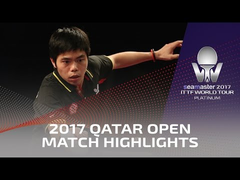 Thumbnail: 2017 Qatar Open Highlights: Koki Niwa vs Chuang Chih-Yuan (1/4)