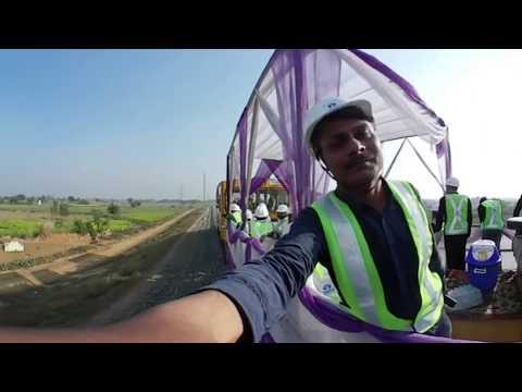 360 Degree Video of Dedicated Freight Corridor