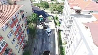 İncivez yolu 13 yıl sonra asfalt ile tanıştı…