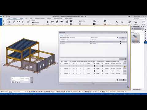 Optimize Material Usage with New Rebar Nesting - Tekla Structures 2021