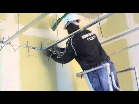 Plafond rayonnant karo installation des nattes capillaires sur plaques de p - Plaque isolante plafond ...