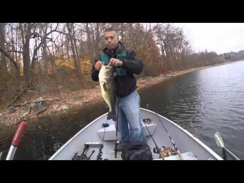 Bass Fishing In NYC Reservoir Lake Gleneida
