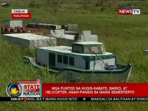 SONA: Mga puntod na hugis-alak, kabayo, barko at helicopter, agaw-pansin