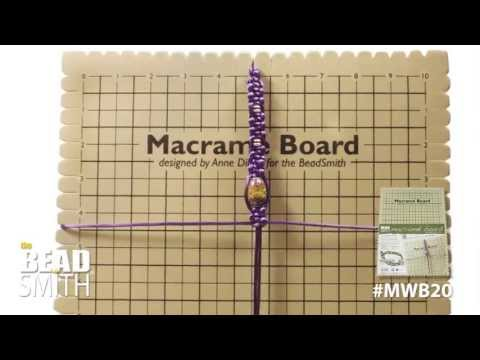 BEADSMITH Macramé Board