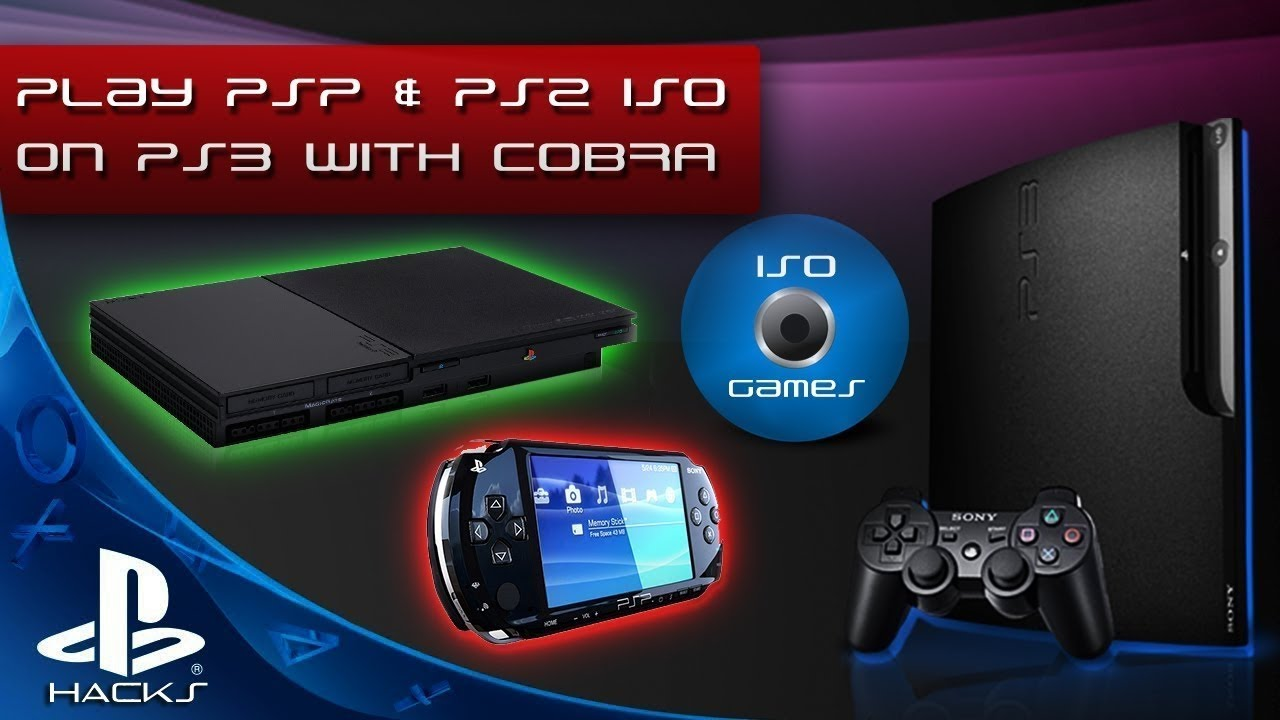 How to Install and Play PSP Games on PS3 with REBUG 4 81 2 COBRA & PSP  Launcher