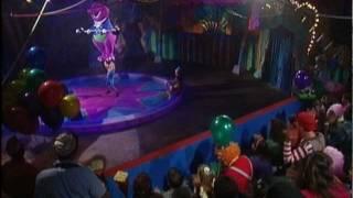 Strong Boy Lifting Barney Off His Feet.(HD-720p)