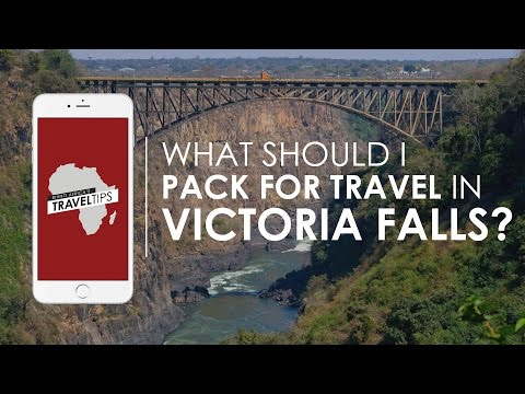What should I pack for travel to Victoria Falls? Rhino Africa's Travel Tips