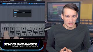Assign Midi Controls with Control Link #StudioOneMinute
