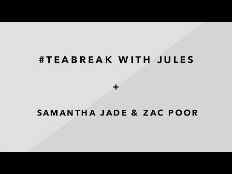 Instagram LIVE recording with Samantha Jade & Zac Poor