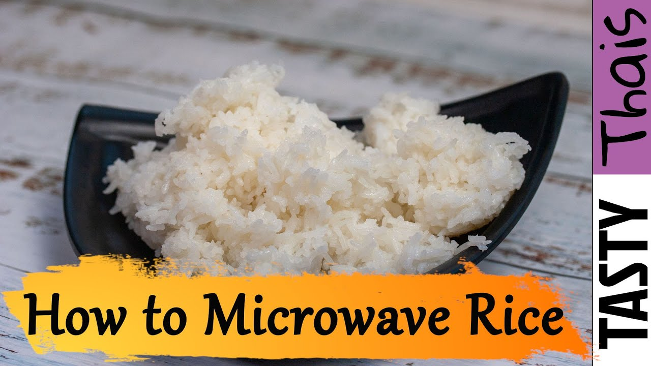 the best microwave rice recipe how to
