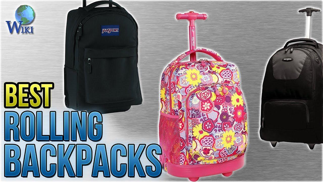 10 Best Rolling Backpacks 2018 Youtube