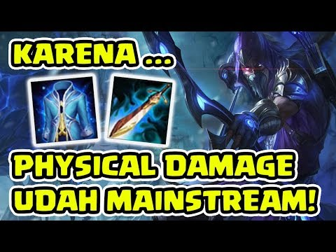 Arena of Valor - YORN! KARENA PHYSICAL DAMAGE ITU SUDAH MAINSTREAM!