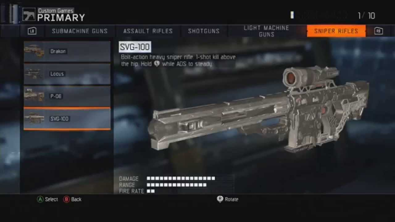 how to get all 10 classes on black ops 1
