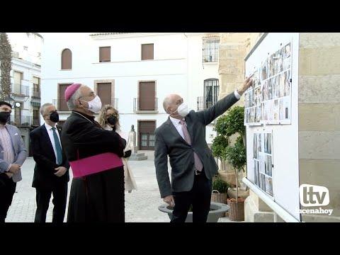 VÍDEO: El Obispo de Córdoba visitó el templo de Santiago tras las obras realizadas en el mismo