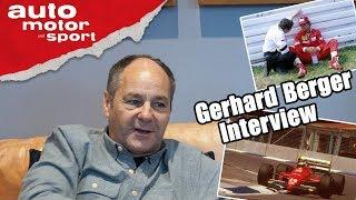 Gerhard Berger: Die Turboautos waren Brutal, aber ich habe sie geliebt! | Formel Schmidt Interview