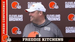 """Gambar cover Freddie Kitchens: """"This time of the year is for knowledge more than anything else"""""""