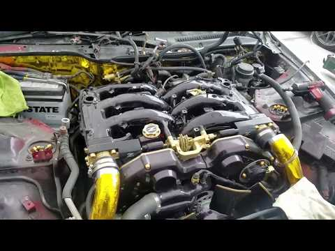 Repeat Nissan 300zx DIY Coolant Bypass! Reaching fuel