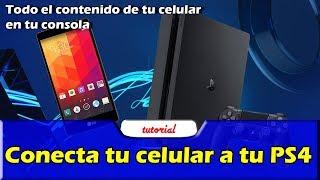 Conecta tu celular a tu PS4 fácil | Tutorial