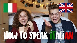 How To Speak Italian (Italy VS England) | doyouknowellie